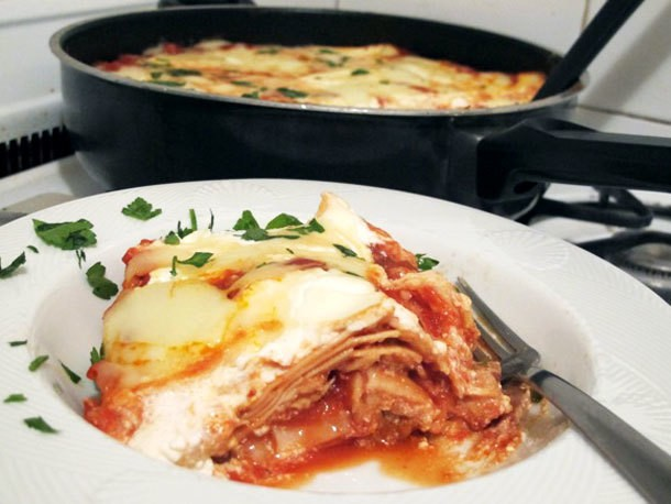 Stovetop Chicken Lasagna Recipe