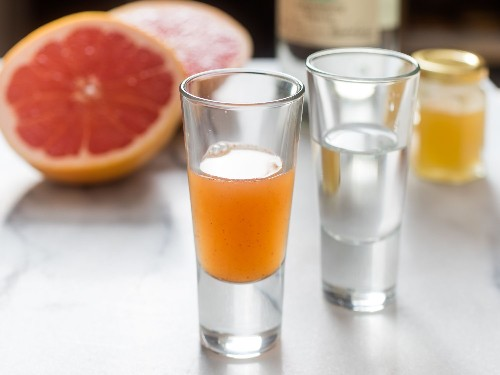 Grapefruit Sangrita With Chipotle and Honey Recipe