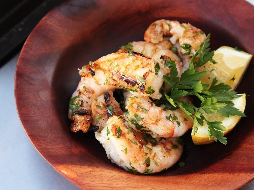 Grilled Shrimp With Garlic and Lemon Recipe