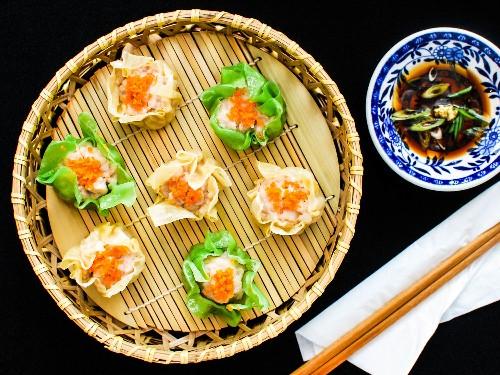 How to Make Pork and Shrimp Siu Mai, a Classic Chinese Dim Sum Dumpling