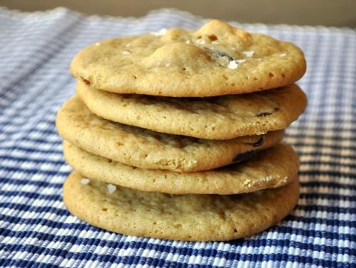 Dark Chocolate Cashew Sea Salt Cookies Recipe