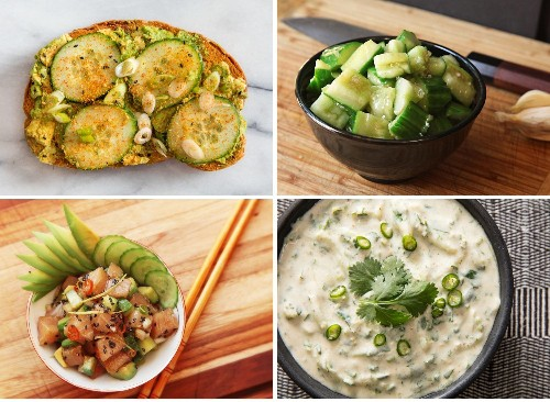 19 Cucumber Recipes to Keep Cool With All Summer