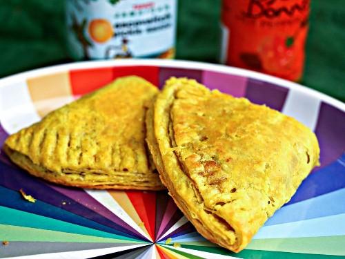 Curried Jamaican Beef Patties Recipe
