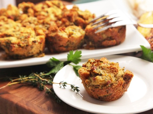 Stuffing Waffles, Stuff-Puppies, and Stuffin's: Three Ways to Bake Your Stuffing Better