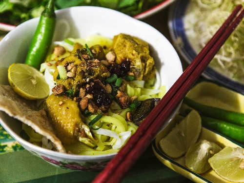 The Makings of Mi Quang, Central Vietnam's Must-Eat Noodle Dish