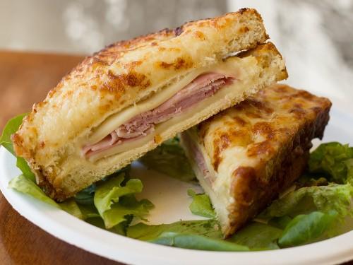 A Sandwich a Day: Croque Monsieur at Papillote in Savannah, GA