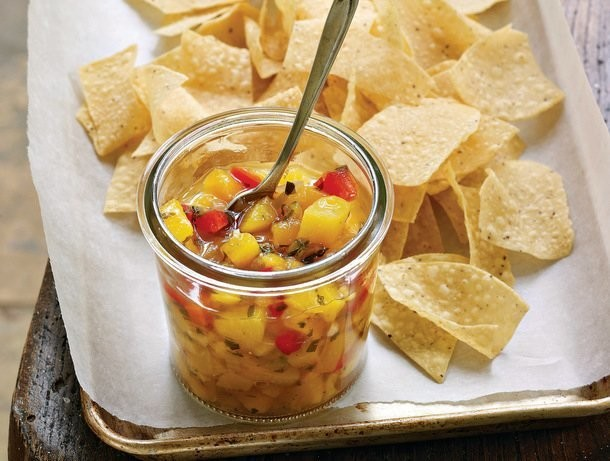 Fiery Peach Salsa from 'Little Jars, Big Flavors'