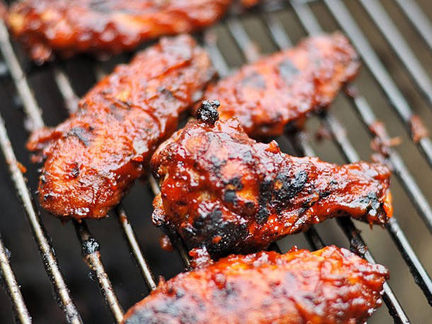 Grilled Habanero Barbecue Wings Recipe