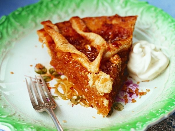 Mrs. White's Treacle Pie