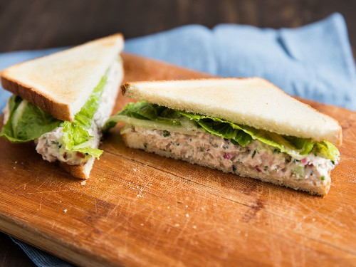 For Better Tuna Salad Sandwiches, With Mayo or Without, Add More Fish