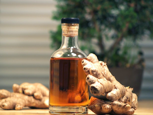 DIY Ginger Liqueur Recipe