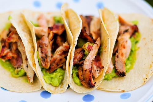 Grilling: Beer-Marinated Chicken Tacos Recipe
