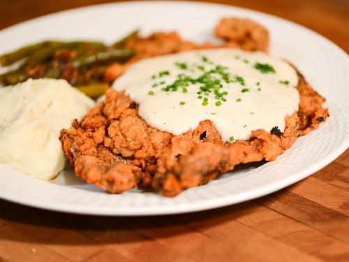 Tender and Beefy Chicken-Fried Steak Recipe