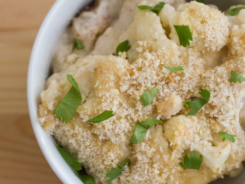 Crunchy Cauliflower Casserole Recipe