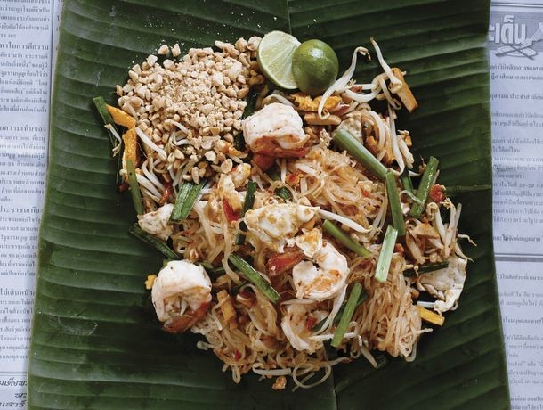 Andy Ricker's Phat Thai (Stir-Fried Rice Noodles With Shrimp, Tofu, and Peanuts)