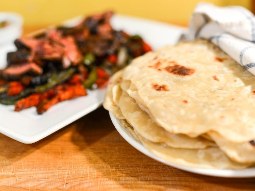 Thin and Tender Flour Tortillas Recipe