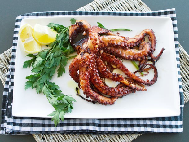 Italian Easy: Grilled Octopus