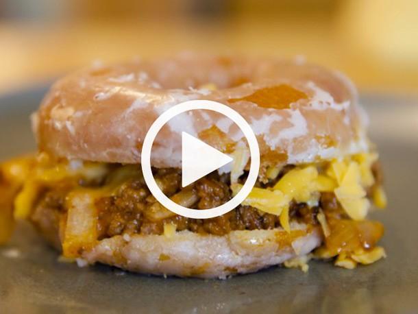Video: Watch Katie Quinn Make a Krispy Kreme Sloppy Joe on Now This News