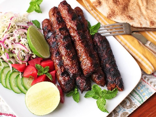 Seekh Kebabs: The Grilled, Spiced Pakistani Meat-on-a-Stick of Your Dreams