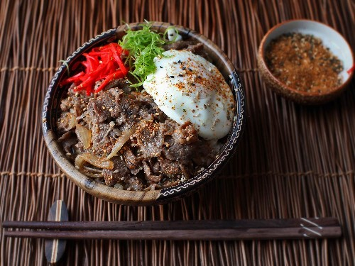 Gyudon (Beef and Rice Bowl) Is Japan's Most Foolproof Dish