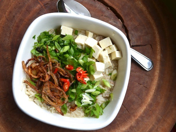 Khao Tom Thai Rice Soup Recipe