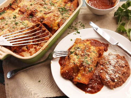 Use Your Pressure Cooker to Make the World's Fastest, Easiest Chicken Enchiladas