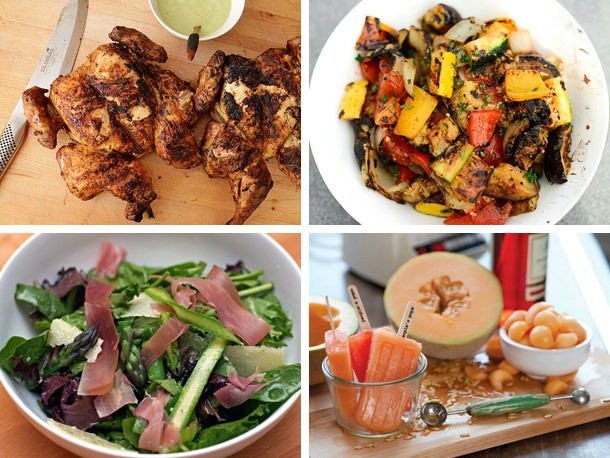 Serious Entertaining: A Spring Grilling Menu