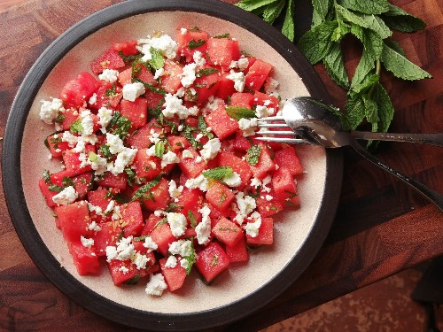 Easiest Summer Ever: How to Make Your Watermelon, Feta, and Mint Salad Even Better