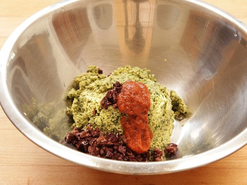 Heat Up Your Homemade Falafel With Harissa and Black Olives