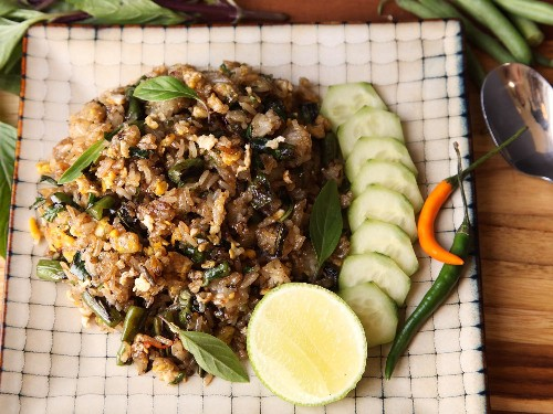 Upgrade Your Fried Rice With Blistered Green Beans and Basil