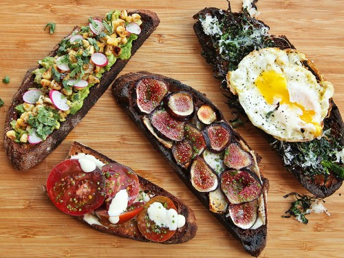 Serious Entertaining: Four Easy Summer Tartines