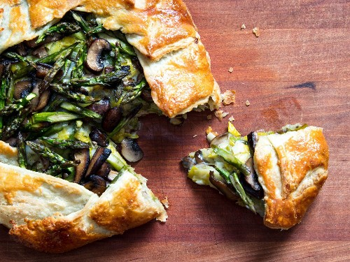 How to Make Savory Vegetable Galettes