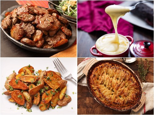 16 Potato Recipes for Thanksgiving: Mashed, Roasted, Hasselback'd, and More