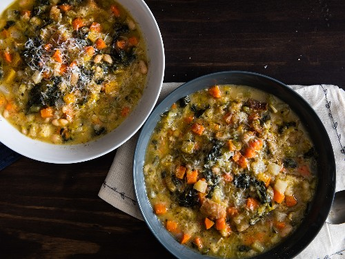 How to Make Ribollita, an Italian Vegetable Soup That's Also a Pancake