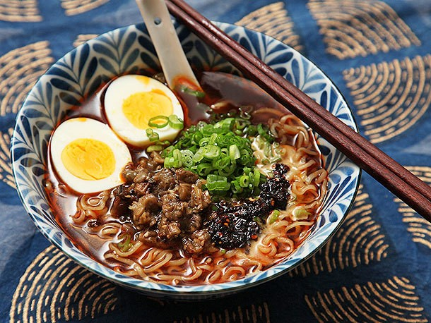 The Food Lab Turbo: Make This Smoky Eggplant Topping to Upgrade Your Ramen