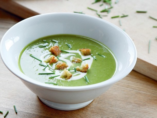Cucumber and Lettuce Vichyssoise from 'River Cottage Veg'