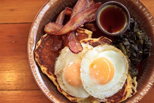 Hangover Helper: Corncakes and Honey Pie at Sweedeedee in Portland, OR