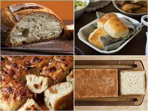14 Bread Recipes, From Focaccia and Challah to Dinner Rolls and Bagels