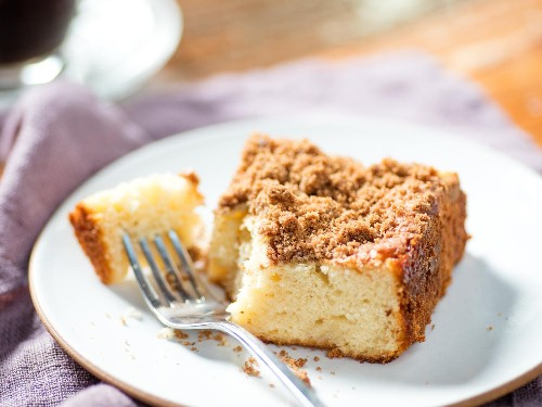 Greek Yogurt Keeps Classic Coffee Cake Moist for Days