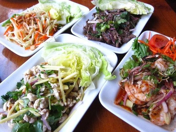 Summertime Salads at Opart Thai House