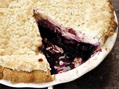 Combine Cheesecake and Blueberry Pie Into One Gluten-Free Dessert