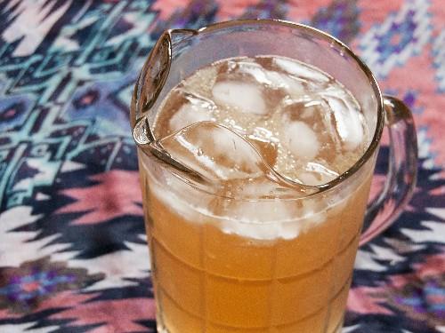 Rhubarb-Ginger Cooler Recipe