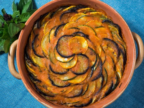 How to Make a Provençal Vegetable Tian (a.k.a. That Dish From the Ratatouille Movie)