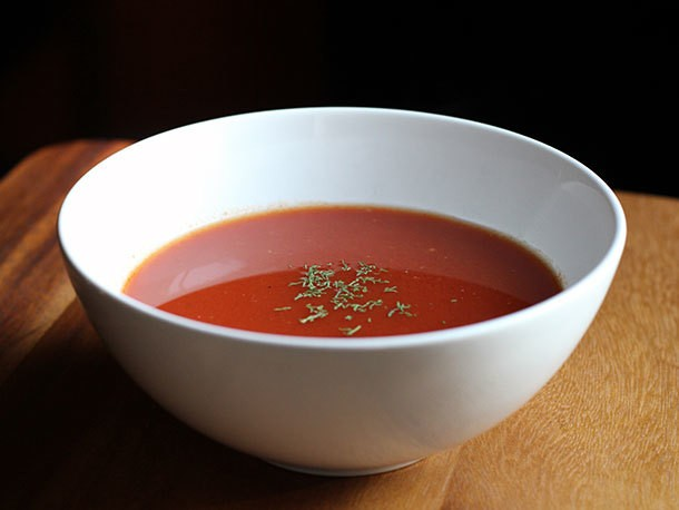 DIY Instant Tomato Bell Pepper Soup Recipe