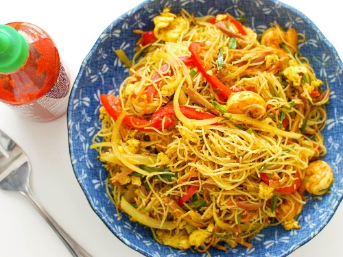 Singapore Rice Noodles Recipe
