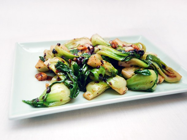 Chinese Greens 101: Shanghai Baby Bok Choy With Black Bean Sauce