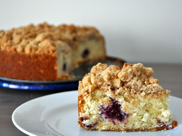 Blackberry Crumb Cake Recipe