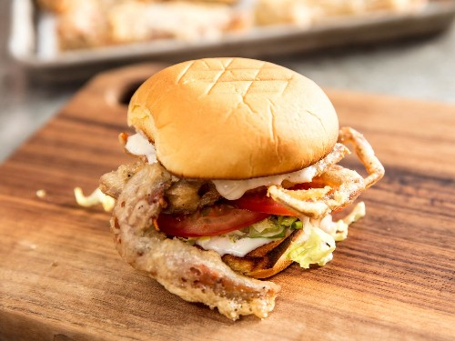 Fried Soft-Shell Crab Sandwiches Are Best Kept Simple