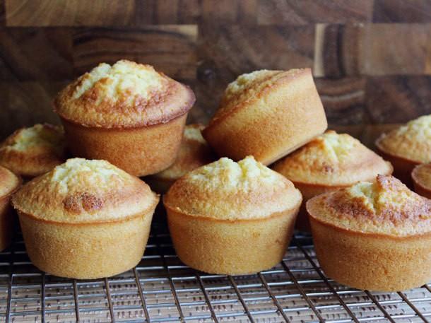 One Bowl Baking: Honey Corn Muffins