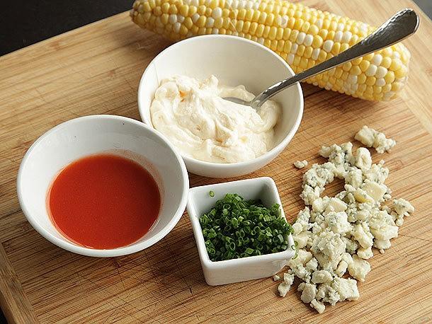 Corn Week: Buffalo Grilled Corn